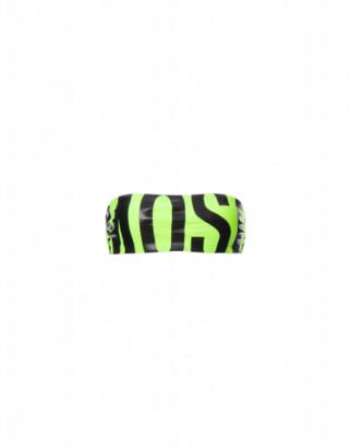 Moschino Maxi Logo Fluo Bikini Top Woman Yellow Size 1 It - (4 Us)