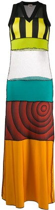Jean Paul Gaultier Pre Owned 1999 Patchwork Maxi Dress