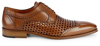 Mezlan Perforated Leather Brogues