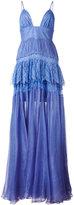 Maria Lucia Hohan Claraamparo tiered gown - women - Silk/Nylon/Polyamide/Viscose - 38