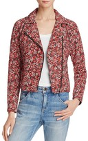 Joie Frona Quilted Silk Jacket