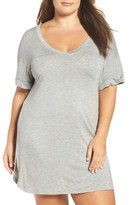 Honeydew Intimates Plus Size Women's Ribbed Sleep Shirt