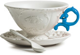 Seletti I-Wares Porcelain Tea Set - Light Blue