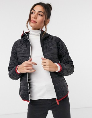Hunter mid layer jacket in black