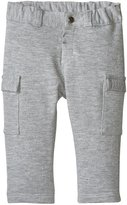 Zutano French Terry Roll Up Pant (Baby) - Gray - 12 Months