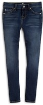 7 For All Mankind Girls' Nouveau New York Skinny Jeans - Big Kid