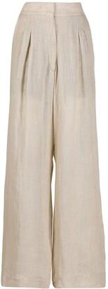 Le Kasha Sohag high waisted trousers