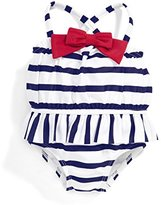 Mamas and Papas Baby Girls' Stripe Swimsuit,0-3 Months