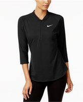 Nike Court Dri-FIT Half-Zip Tennis Top
