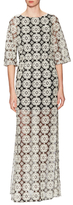 Alice + Olivia Kellyann Embroidered Dress