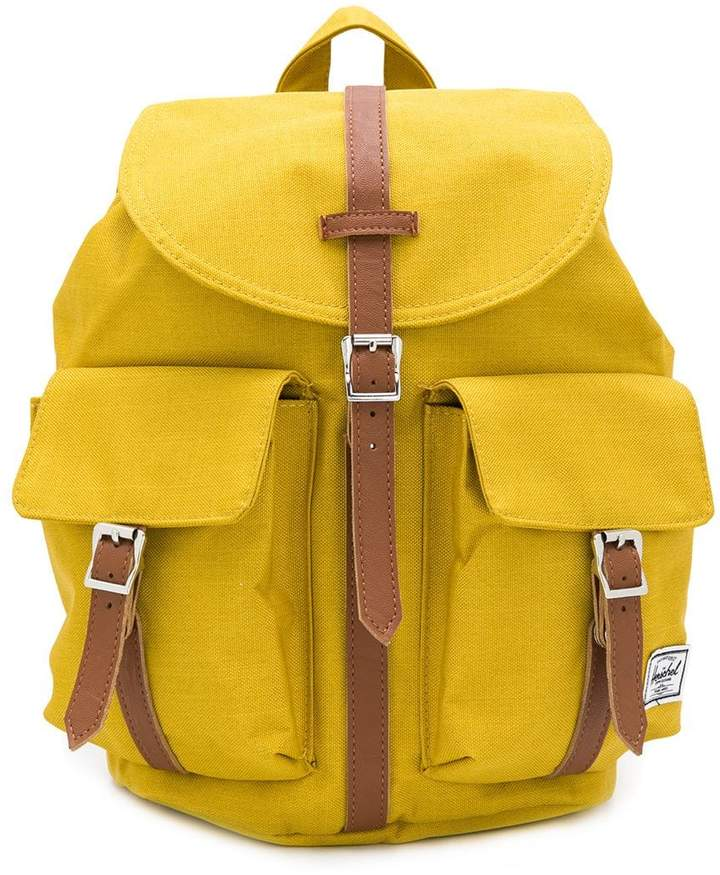 Herschel double pocket backpack