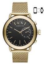 Armani Exchange Luca Aix Hybrid Stainless Steel Bracelet Smartwatch