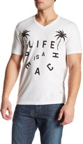 Kinetix Life Is A Beach V-Neck Tee