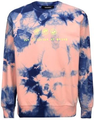 Diesel Tie-Dyed Print Sweatshirt