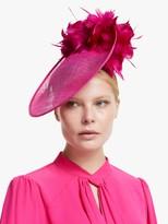 Bundle MacLaren Millinery Gina Flower Detail Disc Occasion Hat, Fuchsia