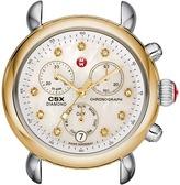 Michele CSX-36 Two-Tone, Diamond Dial Silver/Gold