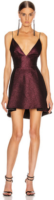 HANEY Elena Dress in Plum | FWRD