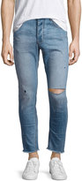 One Teaspoon Mr. Blues Whiskered Distressed Jeans, Blue