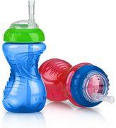 Nuby 2-pk. No-Spill 10-oz. Cups with Flex Straw - Baby
