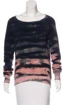 Pam & Gela Printed Long Sleeve Sweater