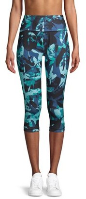 Athletic Works Women's Active Printed Capris