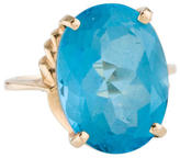 Ring Large Topaz Cocktail