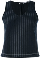 Alexander Wang striped detail top - women - Cotton - 4