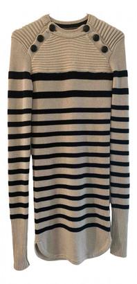 Isabel Marant Haeza Ecru Wool Dresses