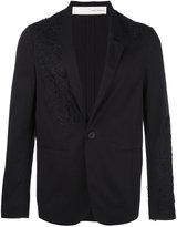 Isabel Benenato embroidered blazer - men - Viscose - 48