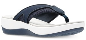 Clarks Collection Women's Cloudsteppers Arla Marina Flip-Flops Women's Shoes