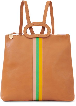 Clare Vivier Marcelle Leather Tote Backpack
