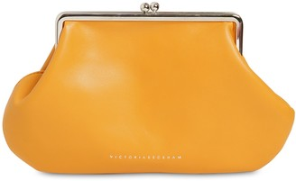 Victoria Beckham Pocket Leather Clutch