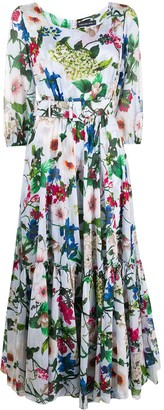 Samantha Sung Anna floral print dress