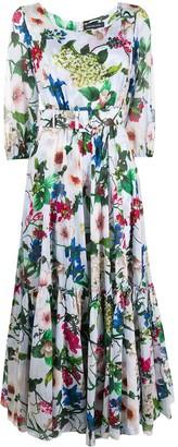 Samantha Sung Anna floral print dress