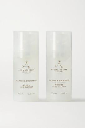 Aromatherapy Associates No Rinse Hand Cleanser - Tea Tree & Eucalyptus, 2 X 100ml