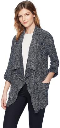 BB Dakota Women's Kris Drape Front Knit Jacket