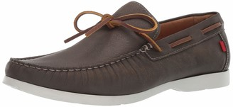 Marc Joseph New York Mens Genuine Leather Made in Brazil St. Marks Driver Driving Style Loafer cafe washed nappa 7 M US