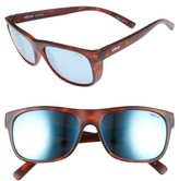 Revo Men's 'Lukee' 56Mm Polarized Sunglasses - Dark Tortoise / Blue Water