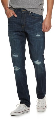 Men's Urban Pipeline Slim-Fit Destructed Jeans