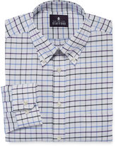 STAFFORD Stafford Travel Long-Sleeve Wrinkle-Free Oxford Dress Shirt