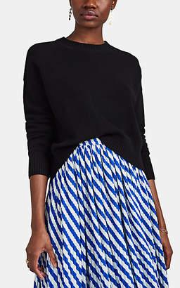 Barneys New York Women's Cashmere Drop-Shoulder Sweater - Black