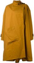 Lemaire asymmetric oversize coat - women - Cotton - 38