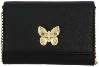 Twin-Set Twinset Twin Set Mini Bag Shoulder Bag In Leather With Butterfly