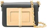 Tom Ford mini bag - women - Calf Leather/Sheep Skin/Shearling/Aluminium - One Size