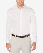 Perry Ellis Men's Speckled Non-Iron Stretch Shirt, Only at Macy's
