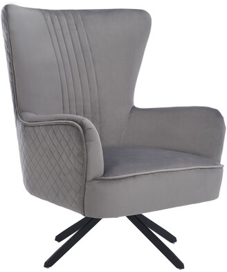 Safavieh Couture Alejandro Velvet Accent Chair