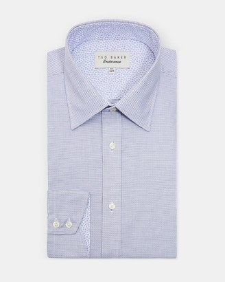 Ted Baker Mini Check Cotton Shirt