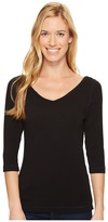 Royal Robbins Kickback to Front 3/4 Sleeve Top Women's Long Sleeve Pullover