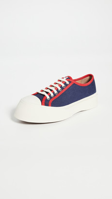 Marni Platform Lace Up Sneakers