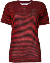 Etoile Isabel Marant striped knitted top - women - Cotton/Linen/Flax - XS